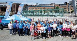 Come and cheer Bluebell and Team away! @ Millennium Bridge