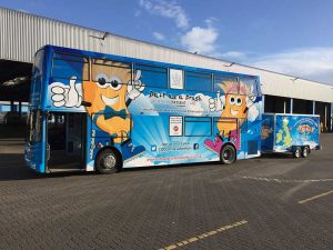 Bluebell Bus – Doesn't she look great!