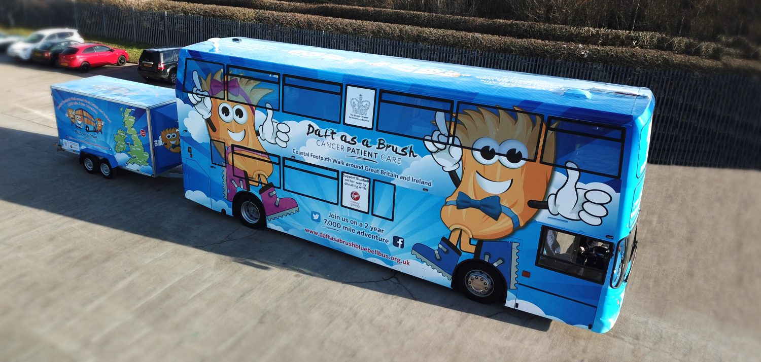 Bluebell Bus Doesn T She Look Great Daft As A Brush