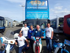 Scooters ride 500 miles for Bluebell Bus!!!