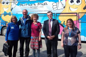 Brian and Bluebell visit Inverness Hospital