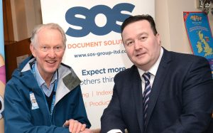 SOS Group Supports Brian's 7,000 mile walk