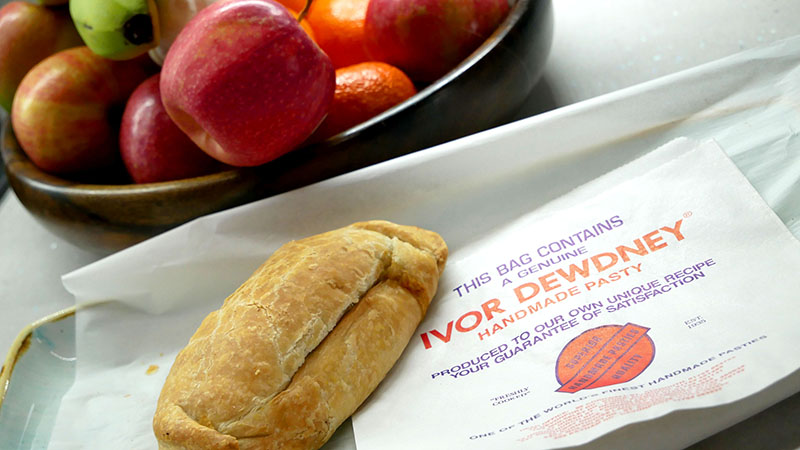 Pasties from Phil Abbott of Ivor Dewdney Pasties